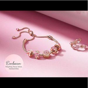 Pandora Rare Asia Exclusive Peach BlossomBracelet
